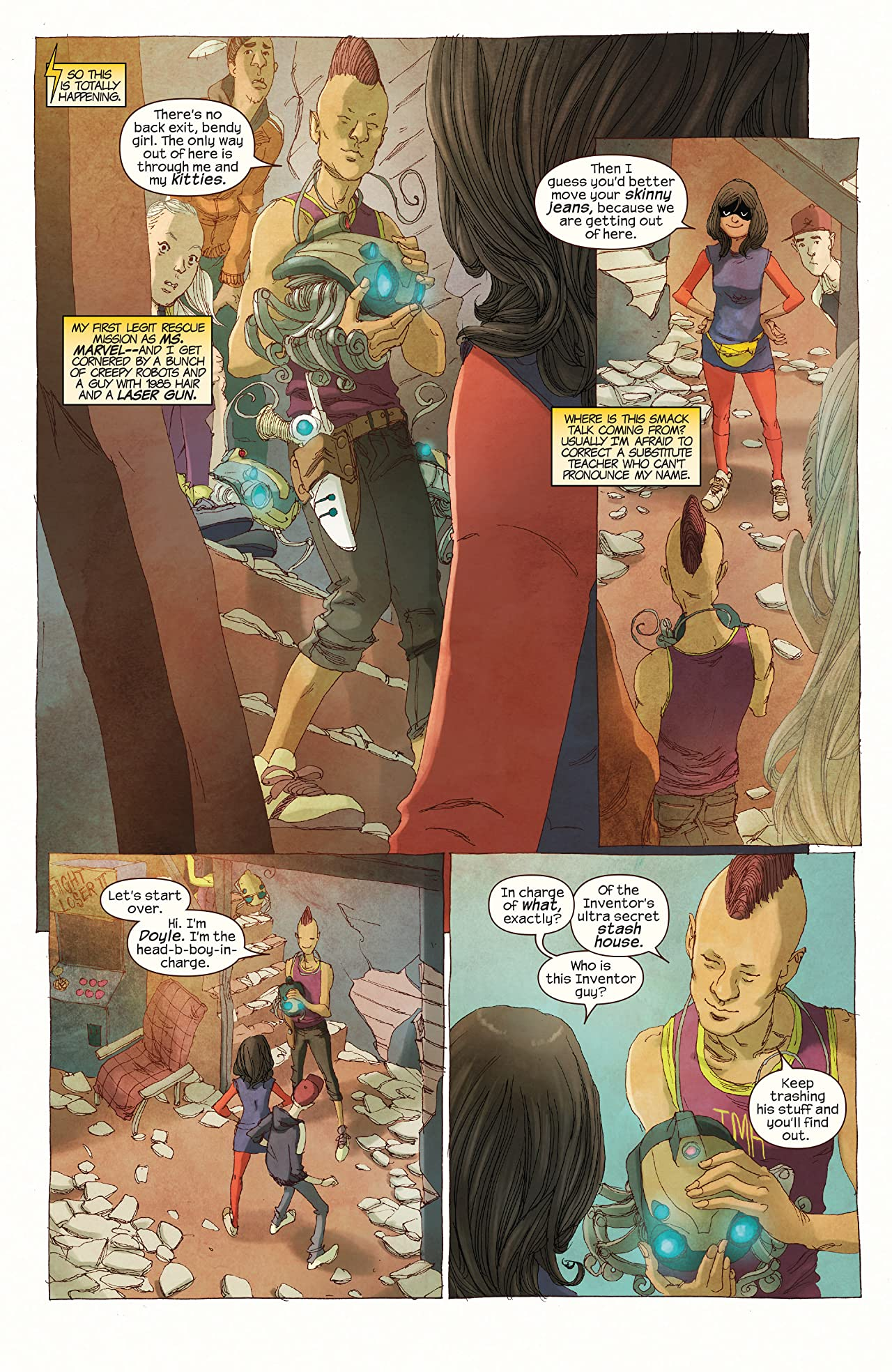 Ms. Marvel (2014-2015) #5