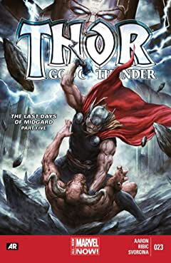 Thor: God of Thunder #23