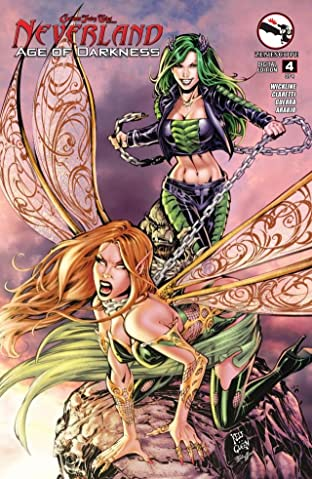 Grimm Fairy Tales Neverland: Age of Darkness #4 (of 4)