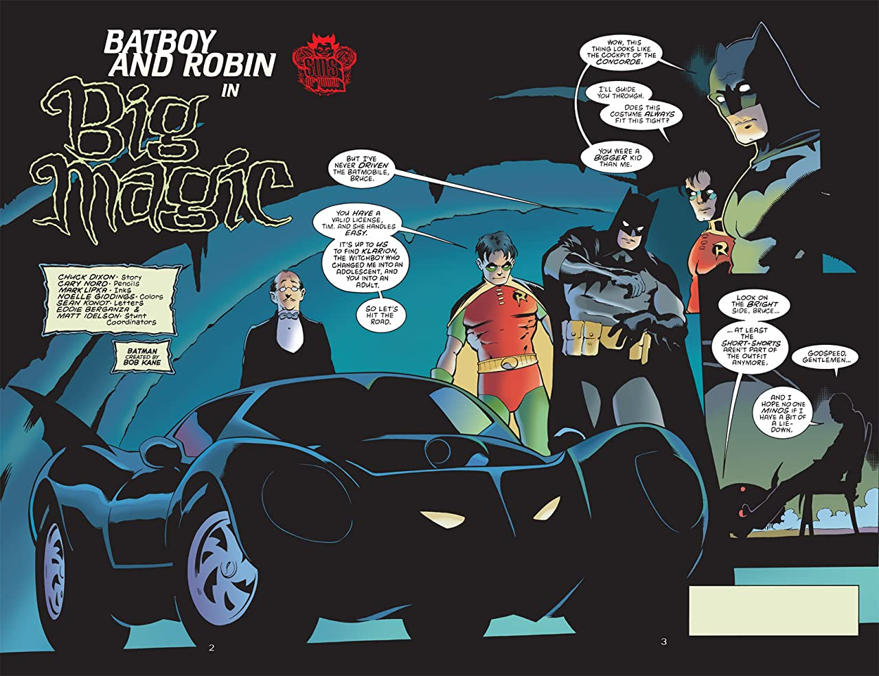 Sins of Youth: Batboy and Robin #1