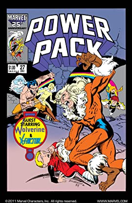 Power Pack (1984-1991) #27
