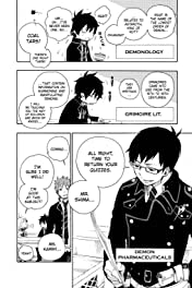 Blue Exorcist Vol. 2