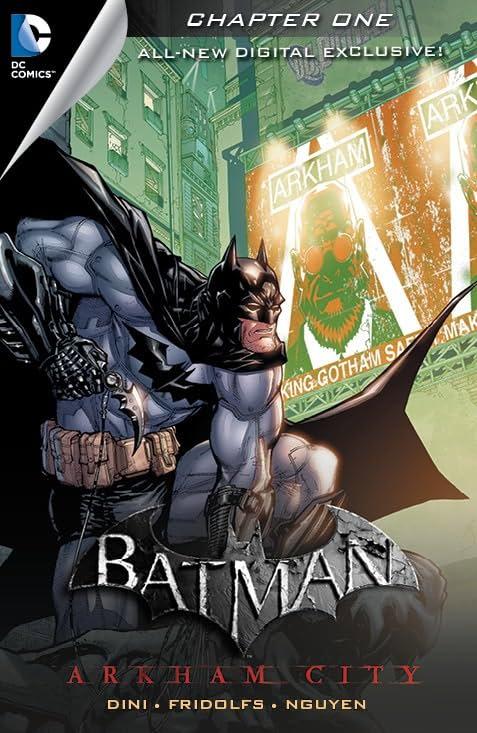 Batman: Arkham City Exclusive Digital Chapter #1