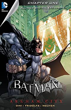 Batman: Arkham City Exclusive Digital Chapter No.1