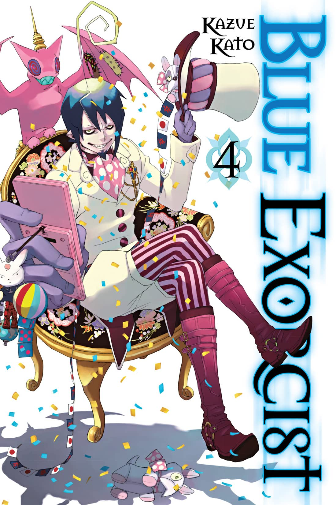 Blue Exorcist Vol. 4