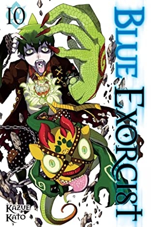 Blue Exorcist Vol. 10