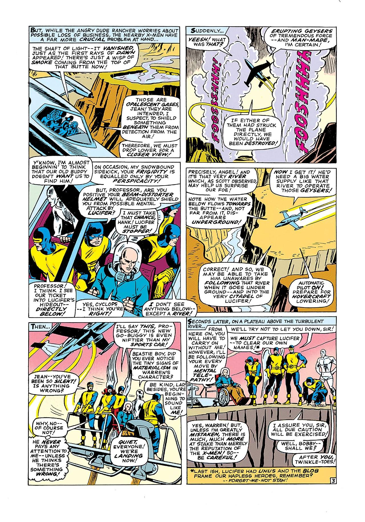 Uncanny X-Men (1963-2011) #21