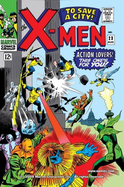 Uncanny X-Men (1963-2011) #23