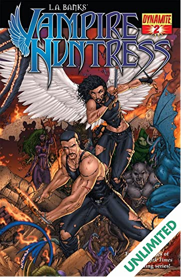 L.A. Banks' Vampire Huntress #2: The Hidden Darkness