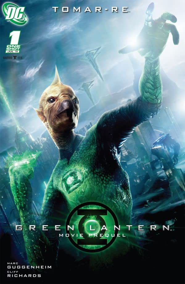 Green Lantern Movie Prequel: Tomar-Re