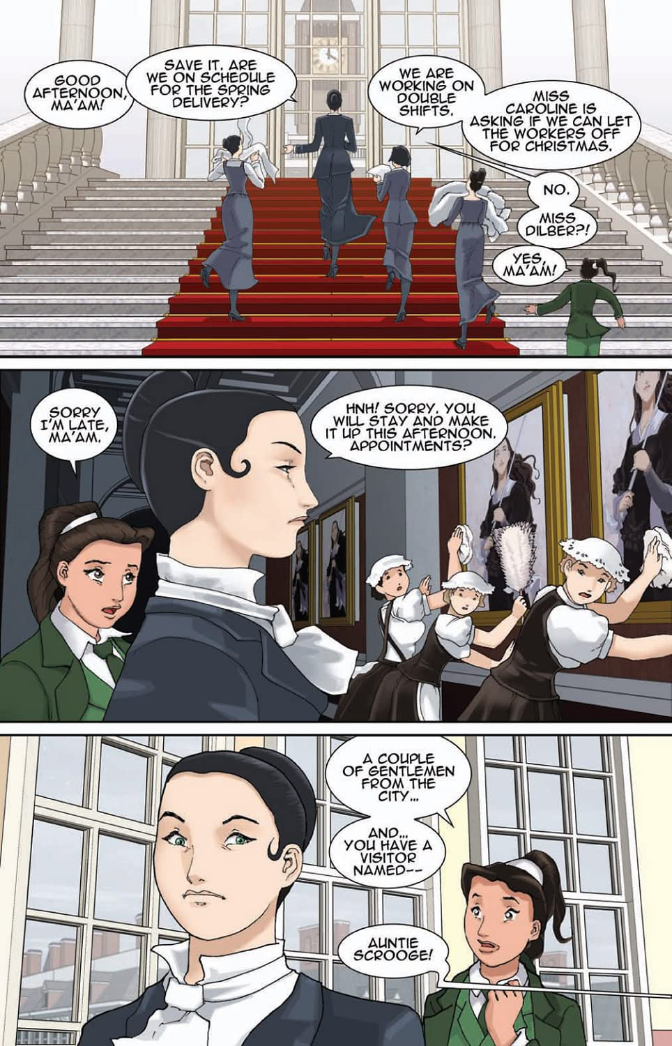 A Christmas Carol Comic Book