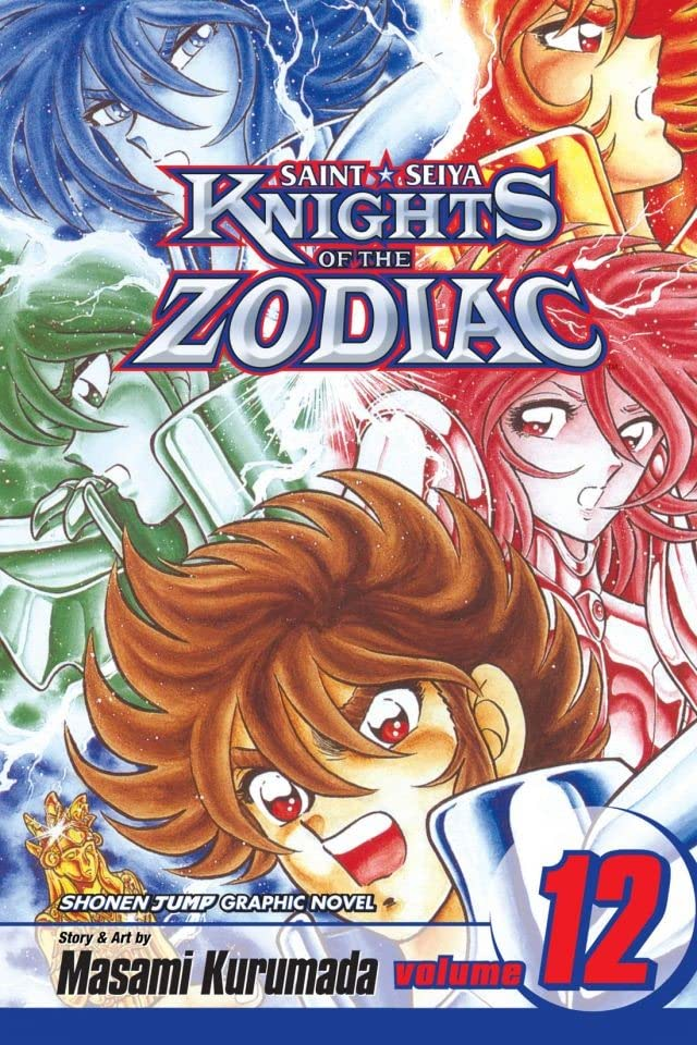 Knights of the Zodiac (Saint Seiya) Vol. 12