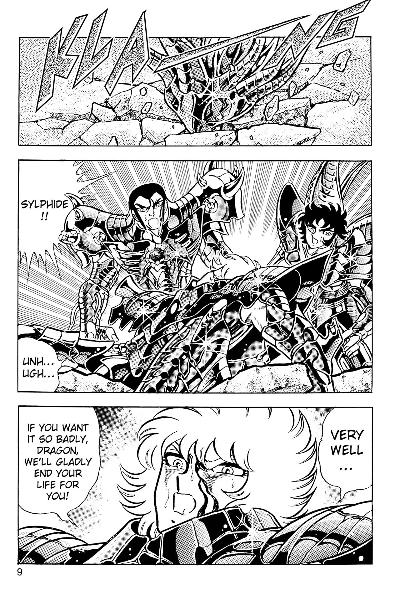 Knights of the Zodiac (Saint Seiya) Vol. 27