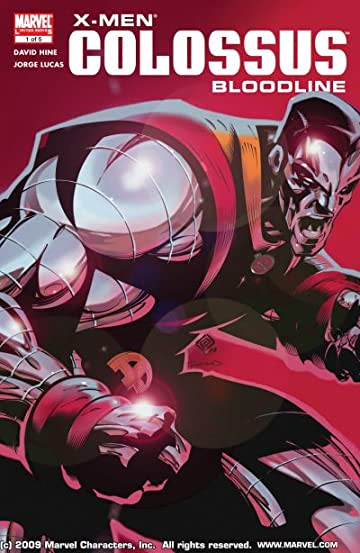 X-Men: Colossus Bloodline #1 (of 5)