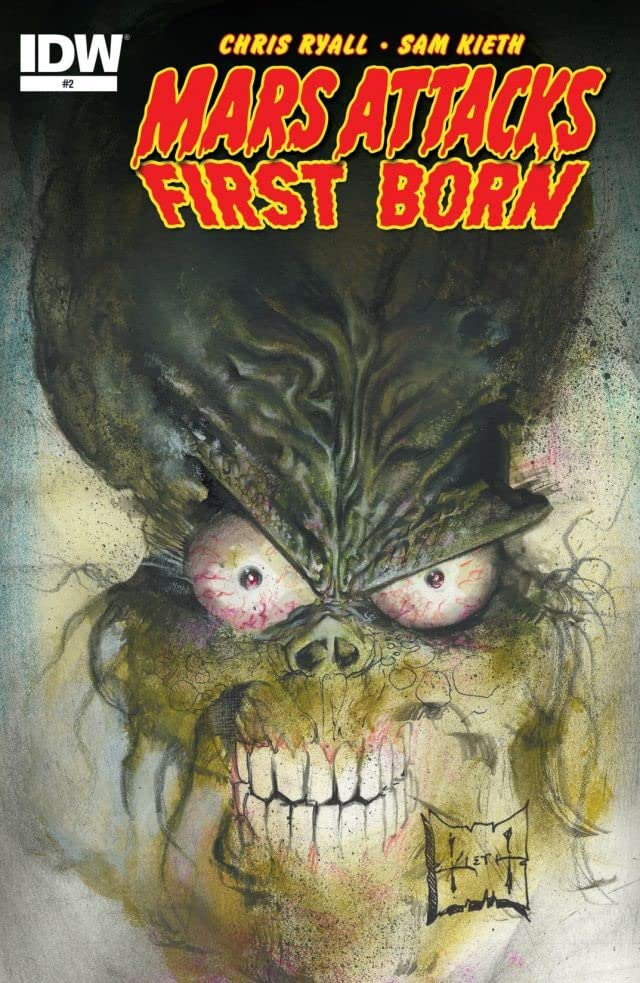 Mars Attacks: First Born #2 (of 4)