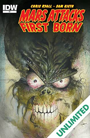 Mars Attacks: First Born #2 (of 4)