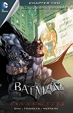 Batman: Arkham City Exclusive Digital Chapter No.2