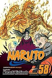 Naruto Vol. 58