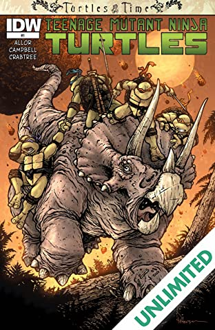 Teenage Mutant Ninja Turtles: Turtles in Time #1 (of 4)