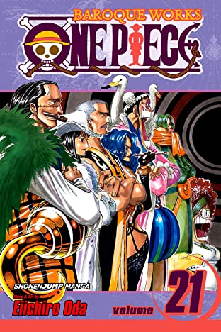 One Piece COMIC_VOLUME_ABBREVIATION 21