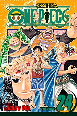 One Piece COMIC_VOLUME_ABBREVIATION 24