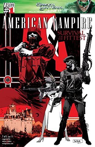 American Vampire: Survival of the Fittest #1 (of 5)