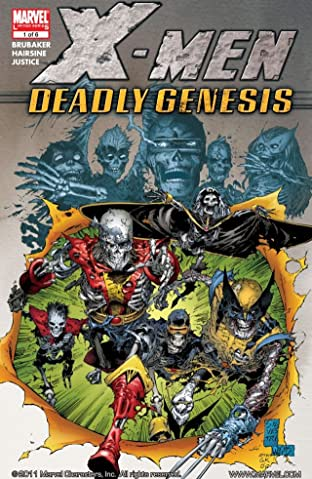 X-Men: Deadly Genesis No.1