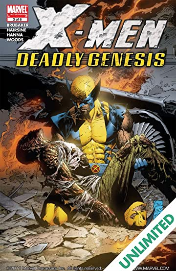 X-Men: Deadly Genesis #3