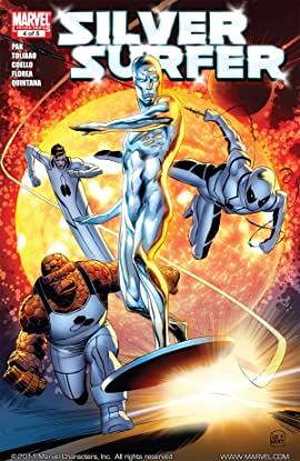 Silver Surfer (2011) #4 (of 5)