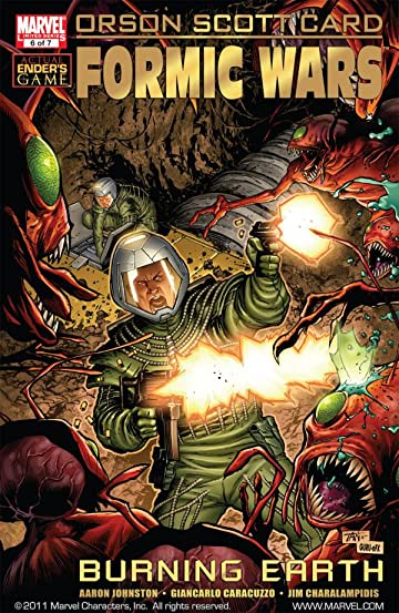 Formic Wars: Burning Earth #6
