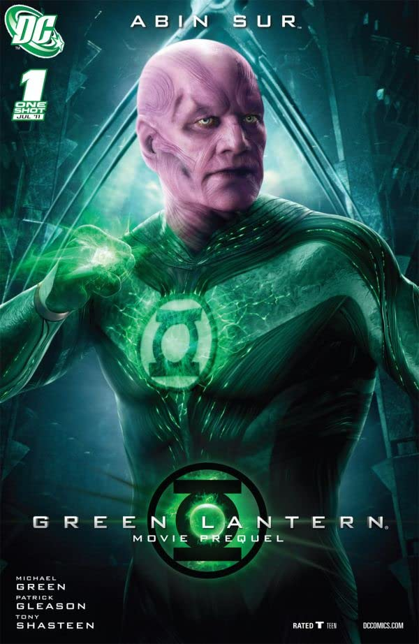 Green Lantern Movie Prequel: Abin Sur