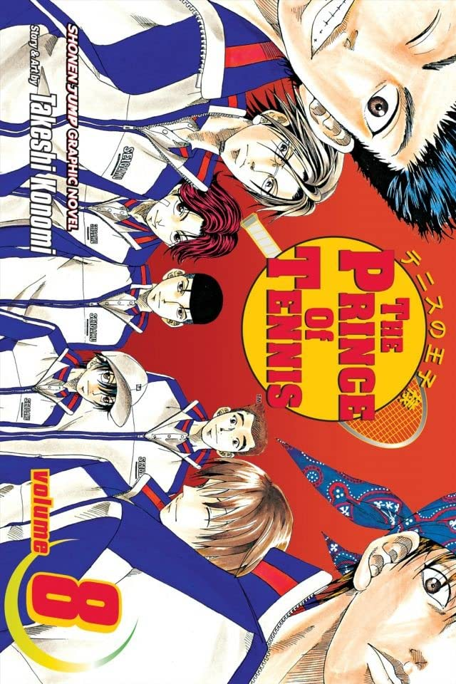 The Prince of Tennis Vol. 8