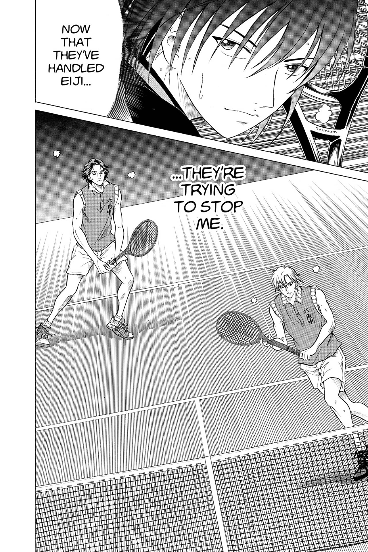 The Prince of Tennis Vol. 21