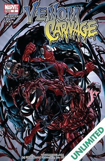 venom vs carnage 2 of 4 comics by comixology