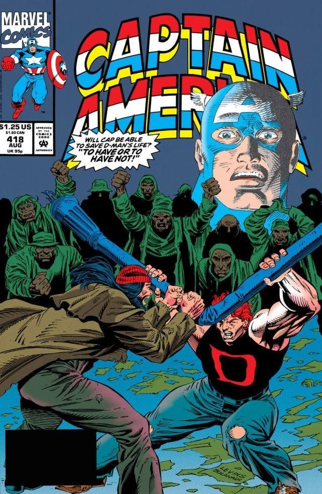 Captain America (1968-1996) #418