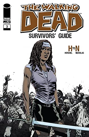 The Walking Dead Survivors' Guide No.3 (sur 4)