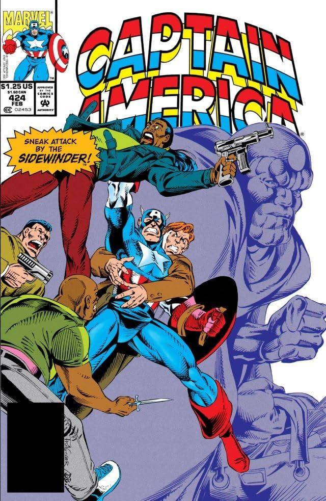 Captain America (1968-1996) #424
