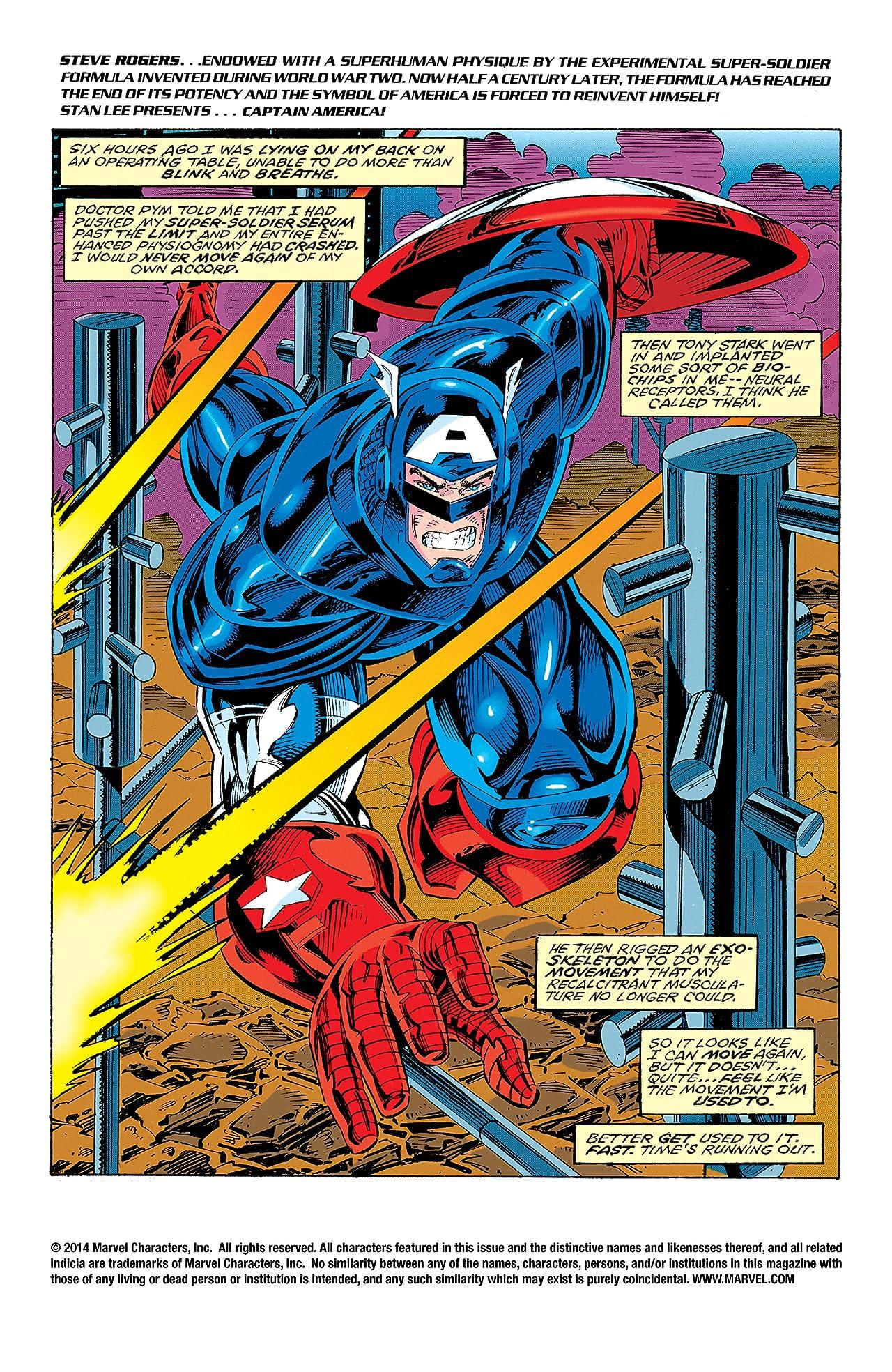 Captain America (1968-1996) #438