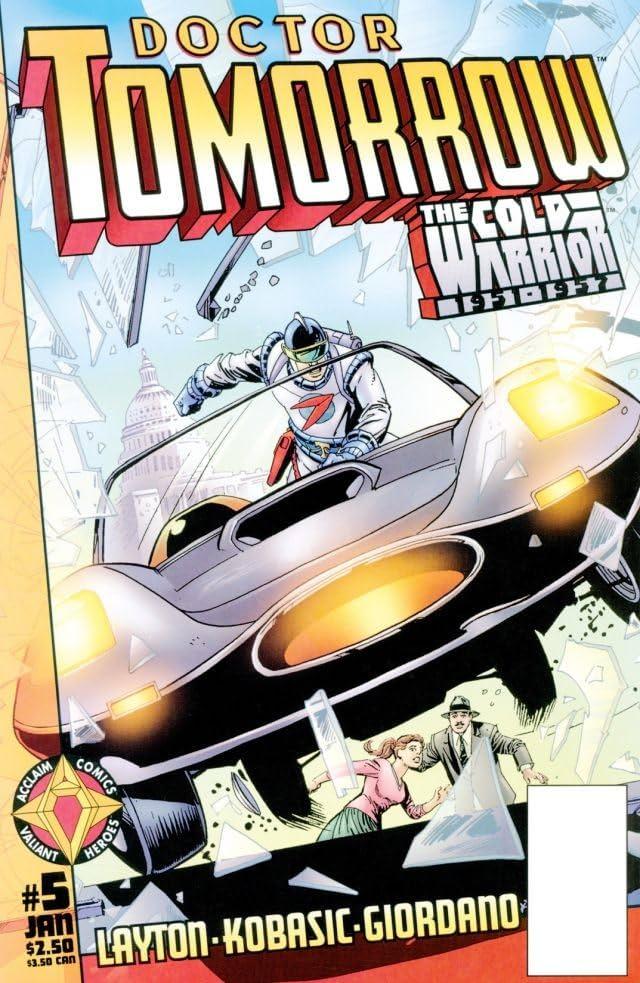 Doctor Tomorrow (1997-1998) #5