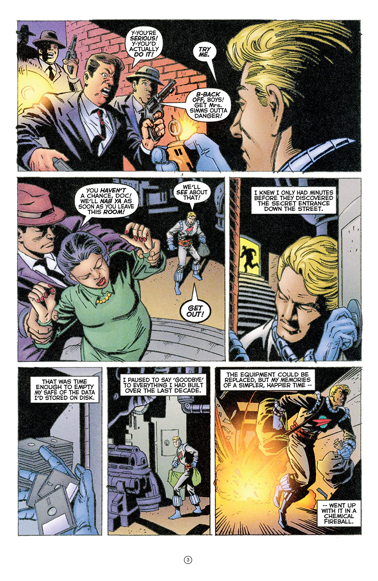 Doctor Tomorrow (1997-1998) #5