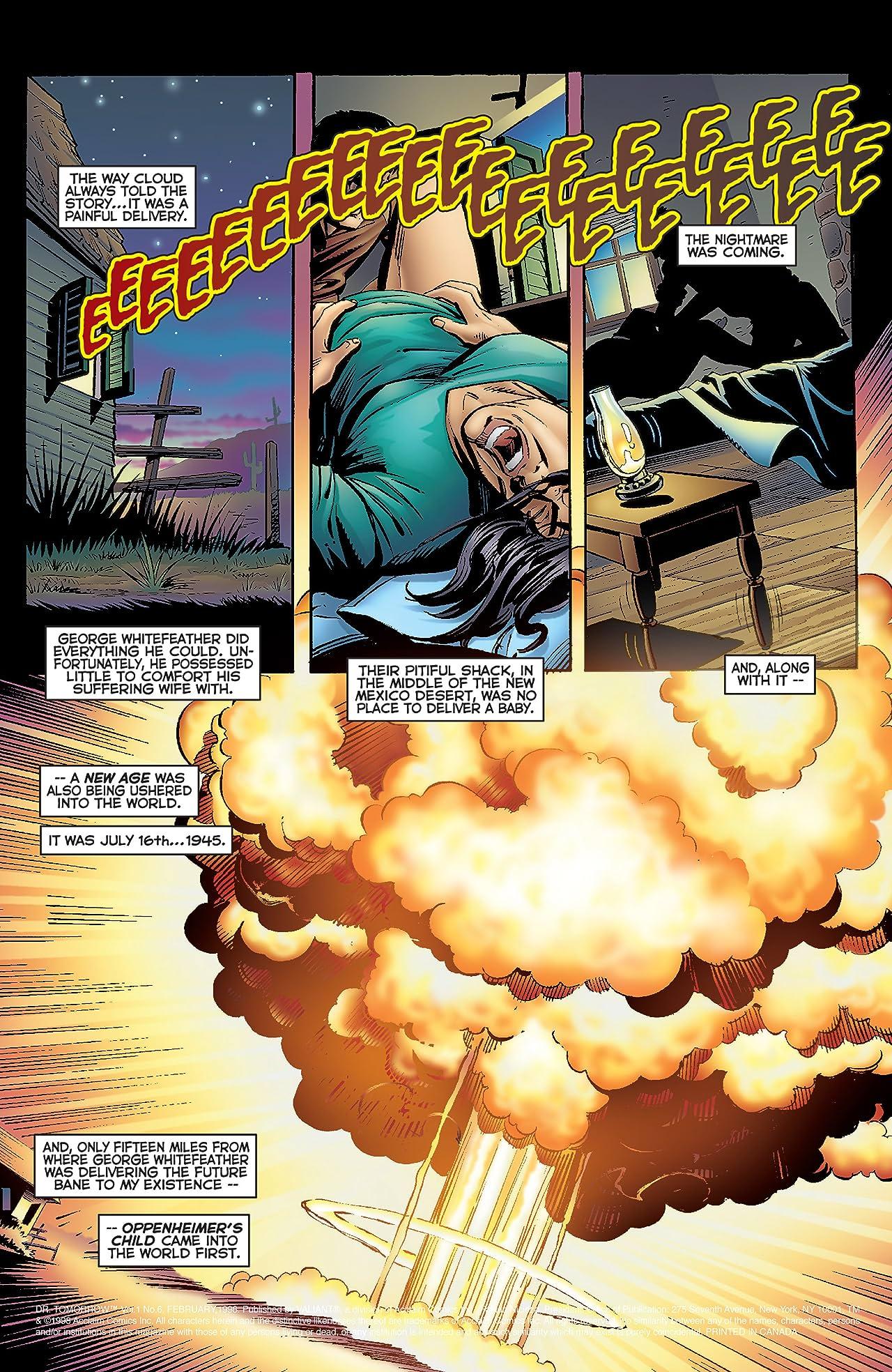 Doctor Tomorrow (1997-1998) #6
