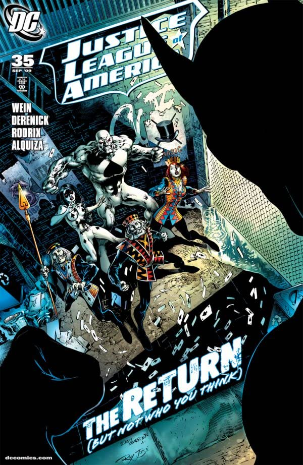 Justice League of America (2006-2011) #35
