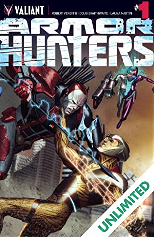 Armor Hunters #1 (of 4): Digital Exclusives Edition