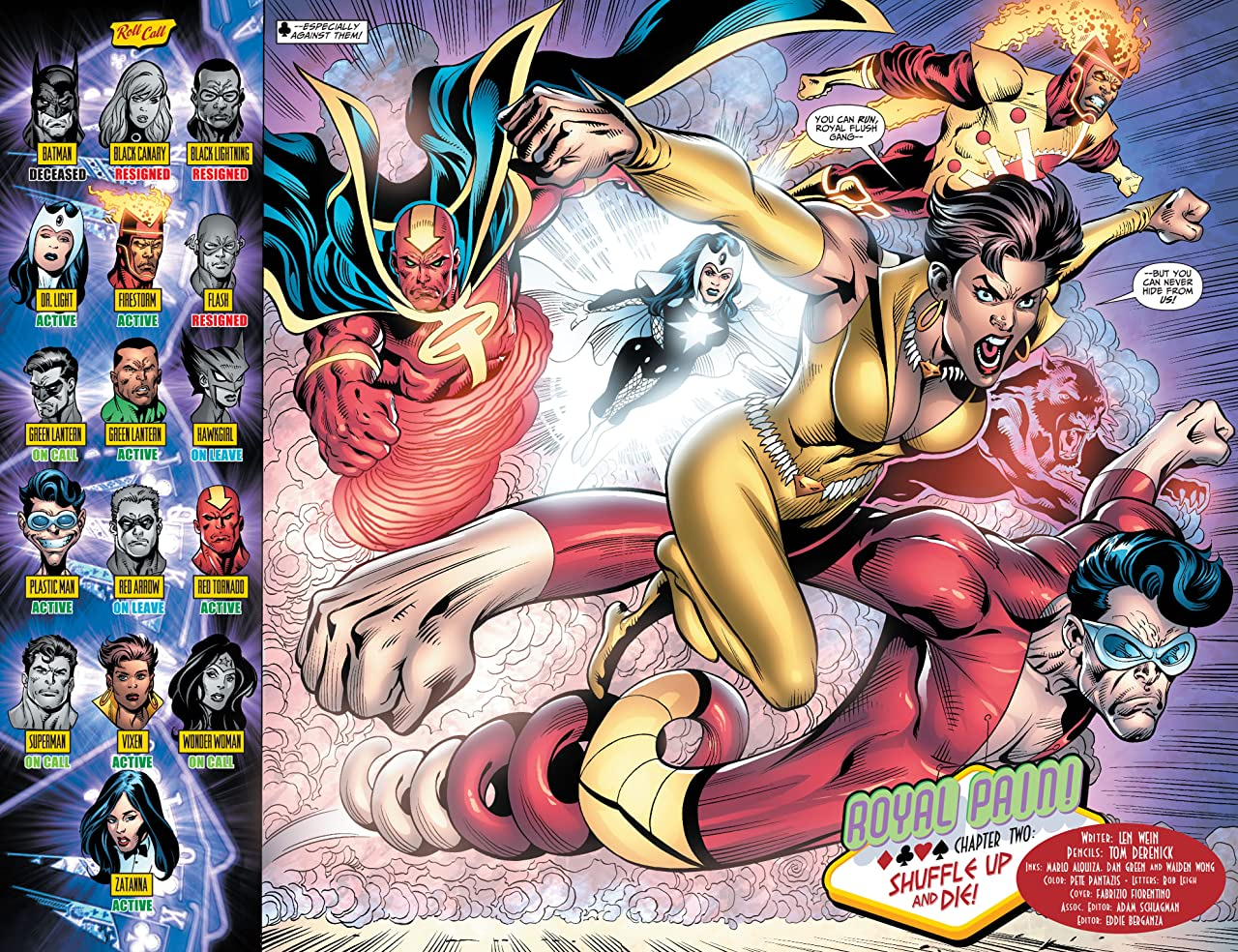 Justice League of America (2006-2011) #36
