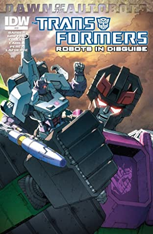 Transformers: Robots In Disguise (2011-) #30: Dawn of the Autobots