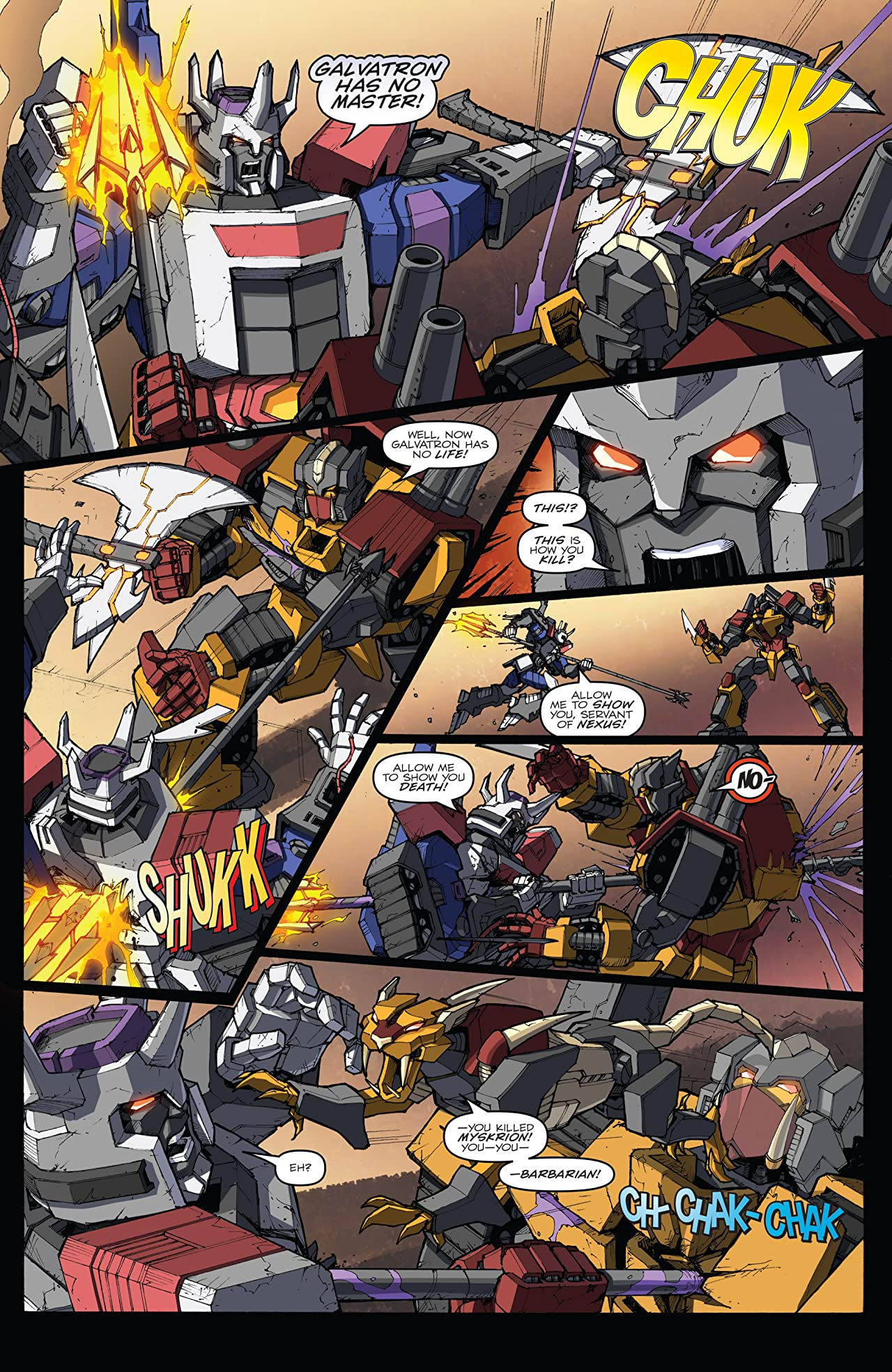 Transformers: Robots In Disguise (2011-2016) #30: Dawn of the Autobots