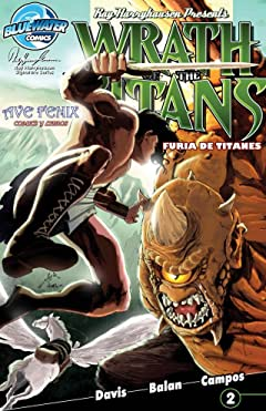 Wrath of the Titans: Spanish Edition #2