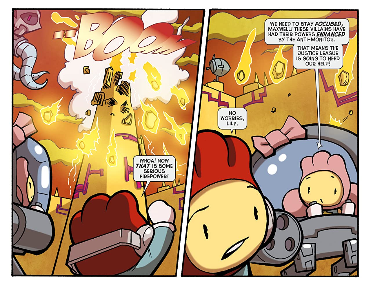 Scribblenauts Unmasked: A Crisis of Imagination #14