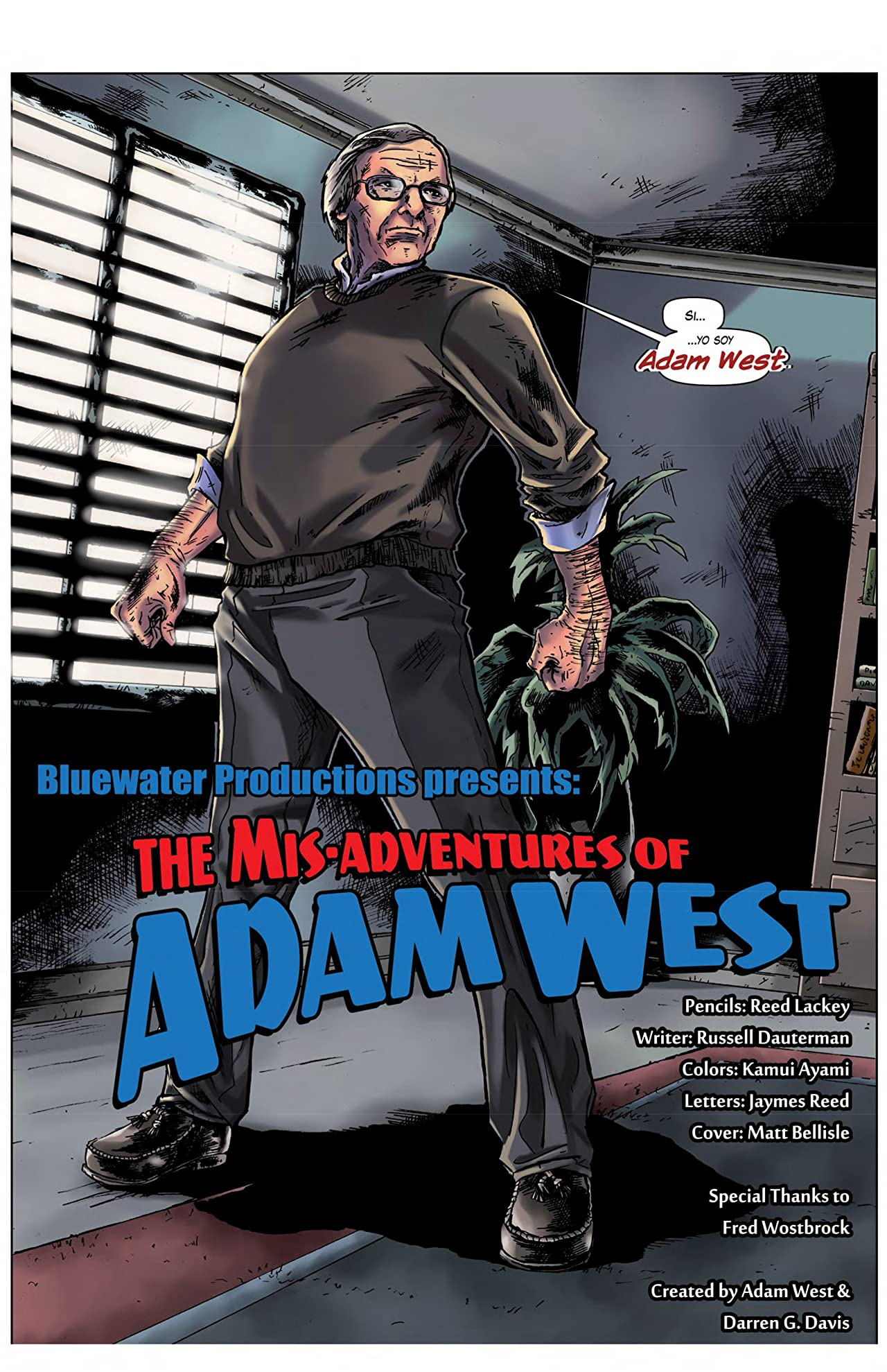 Mis-adventures of Adam West: Spanish Edition #1