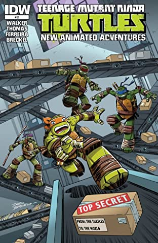 Teenage Mutant Ninja Turtles: New Animated Adventures #12